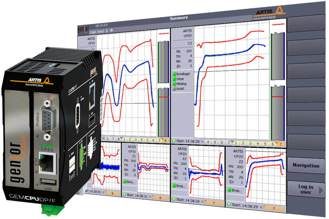 Tool and Process Monitoring System