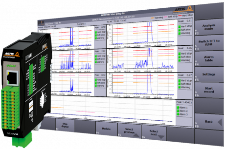 Monitoring and Analysis of Machines and Components