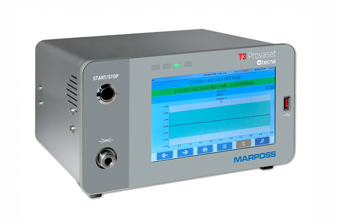 Flow and leak tester