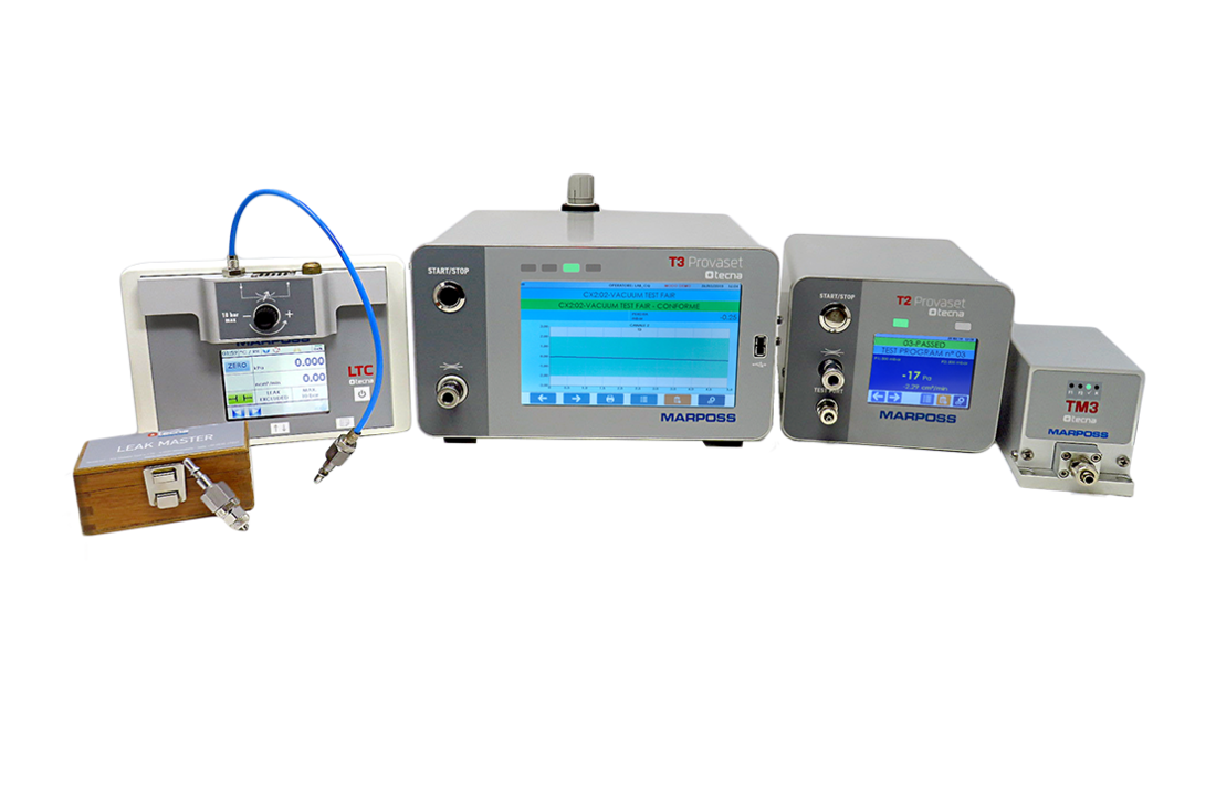 Ausrüstungen für Leck- und Durchflussprüfungen