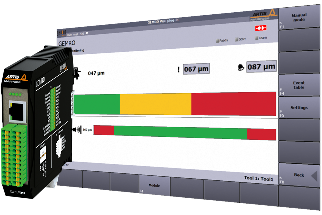 Tool Holder RunOut Detection