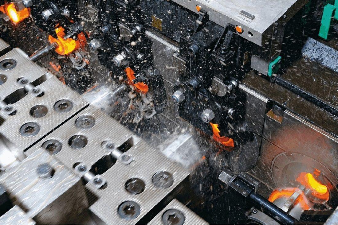 Überwachungslösungen von Maschinen der Warmumformung