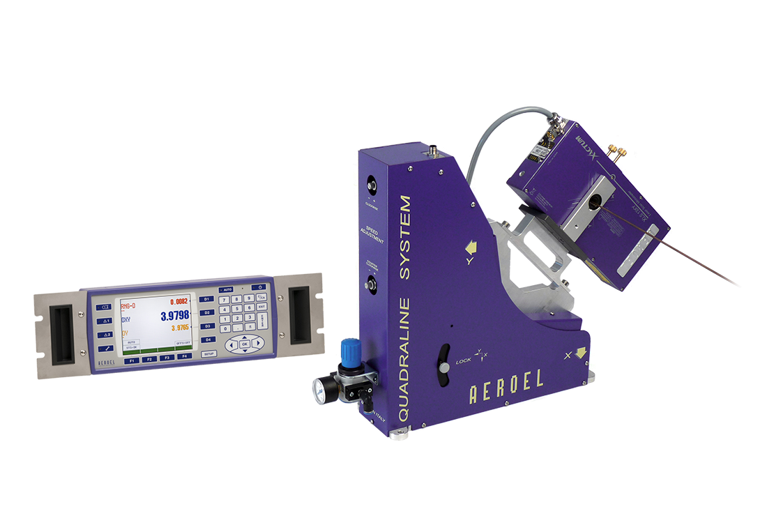 The effective solution for the in-line measurement of products featuring rectangular cross section