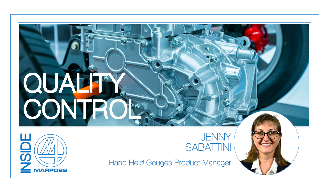 Hand held gauges for quality control
