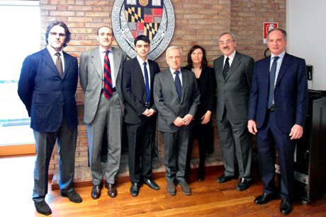 <em>from the left: Alberto Possati, Alberto Vacchi, Martin Vladimirov, Stefano Possati, Tiziana Ferrari, Kenneth Keller, Edoardo Possati</em>