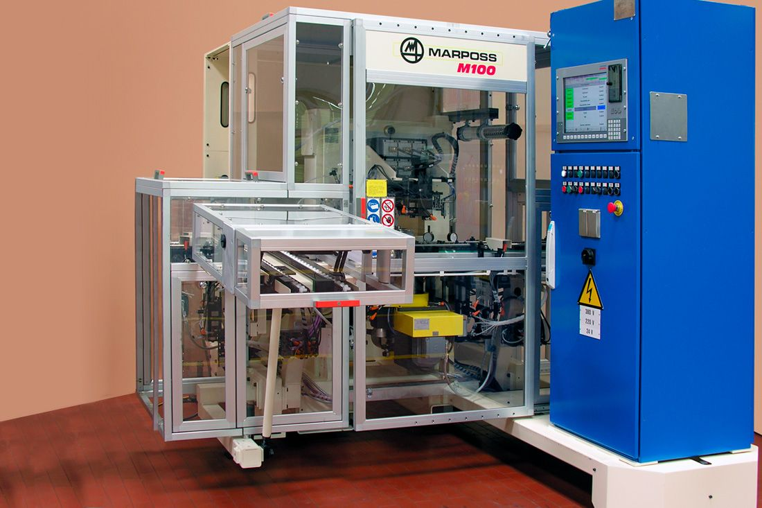 Automatic Measuring Machine for Inspection of Disk-Like Components (Brake Disks, Drums, Wheel Hubs)