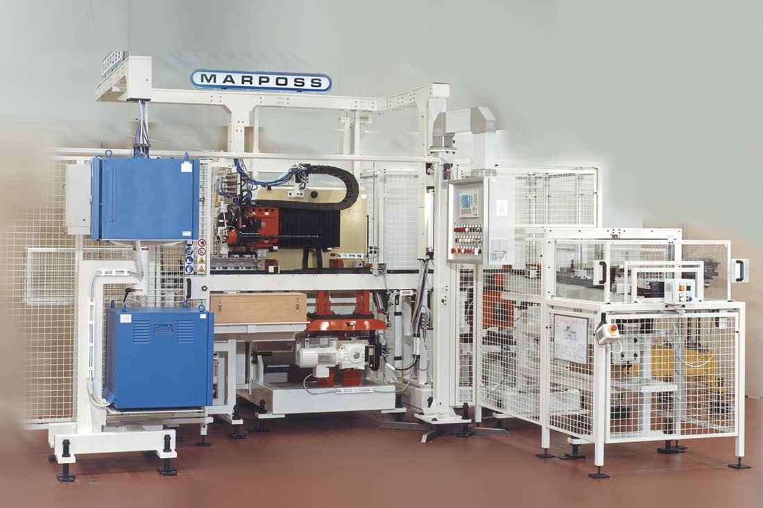 Marposs Automatic Measuring Machine For Cylinder Block And