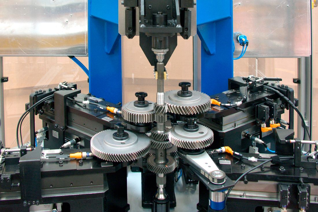 Gauging Line For Gear Inspection Marposs