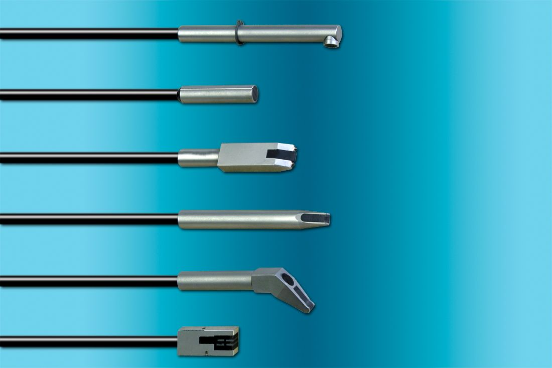 Eddy Current Probes to Check Surface Faults and Material Properties