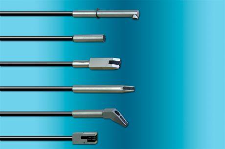 Wirbelstromsensoren zur Kontrolle auf Oberflächenmängel und Materialeigenschaften