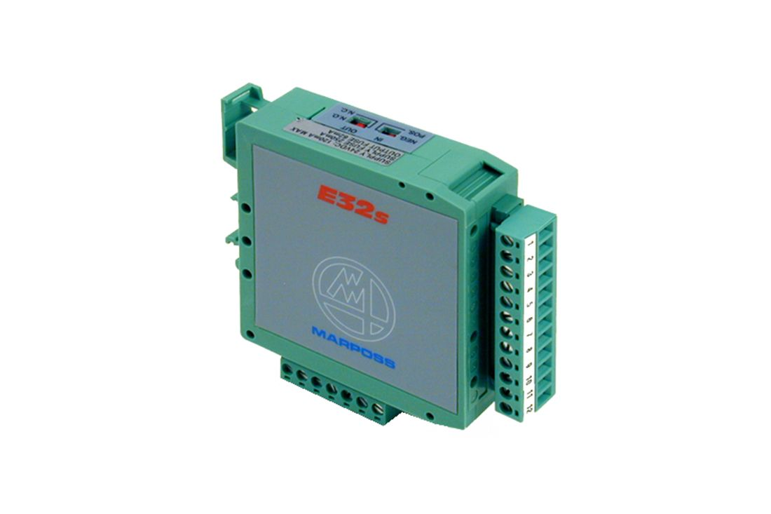 MARPOSS interface unit for high frequency and hard-wired transmission