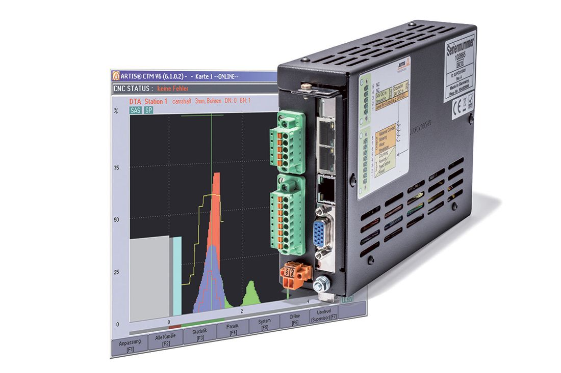 Machine Monitoring System : Marposs tool and process monitoring system