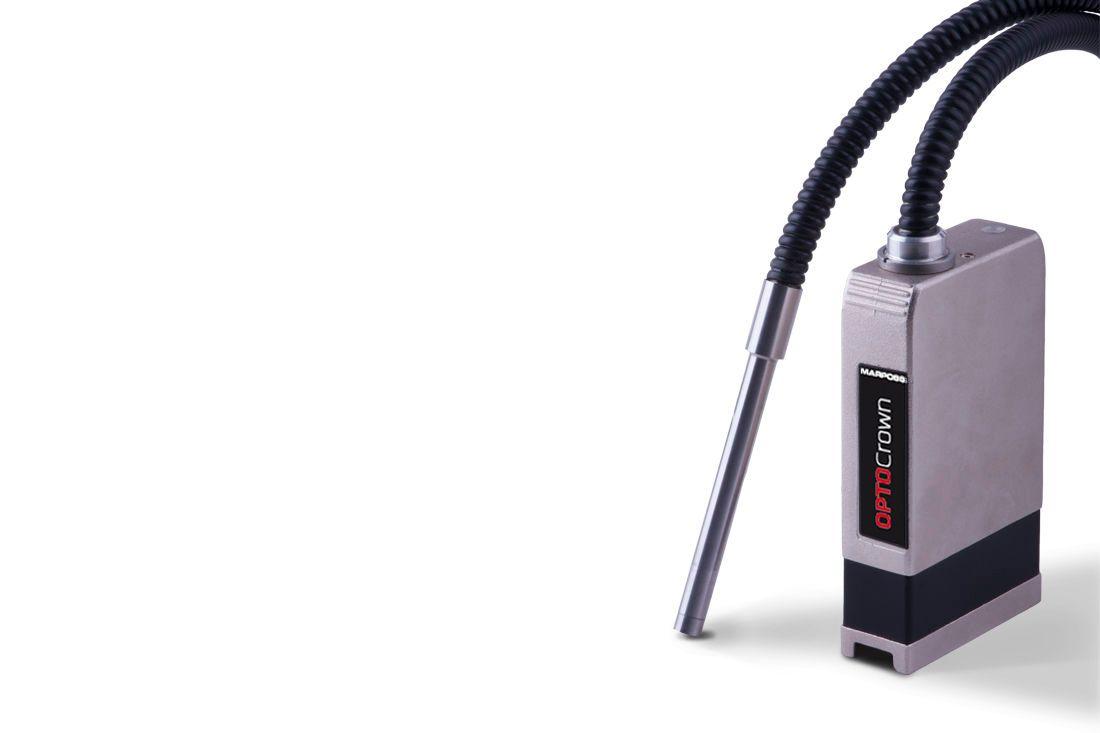 Optischer Sensor für berührungslose Linearmessungen