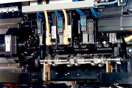 Автоматическая измерительная станция для контроля профиля кулачка