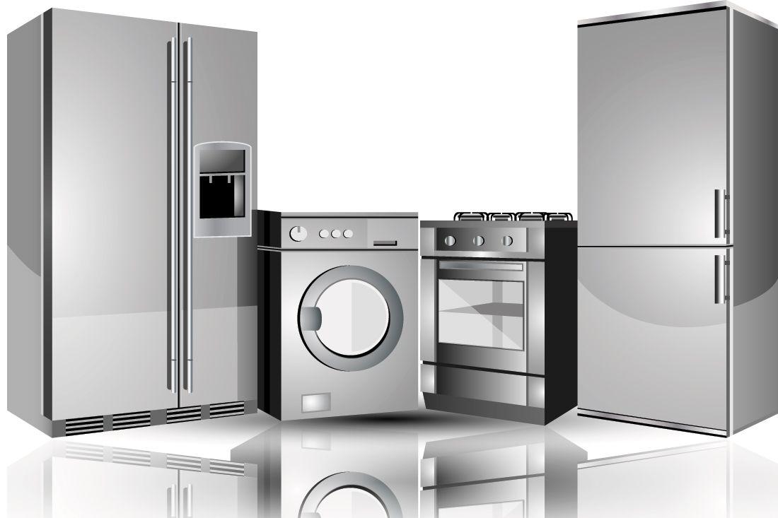 · 白物家電産業 -- 食器洗い機、ストーブ、オーブン、洗濯機、衣服乾燥機