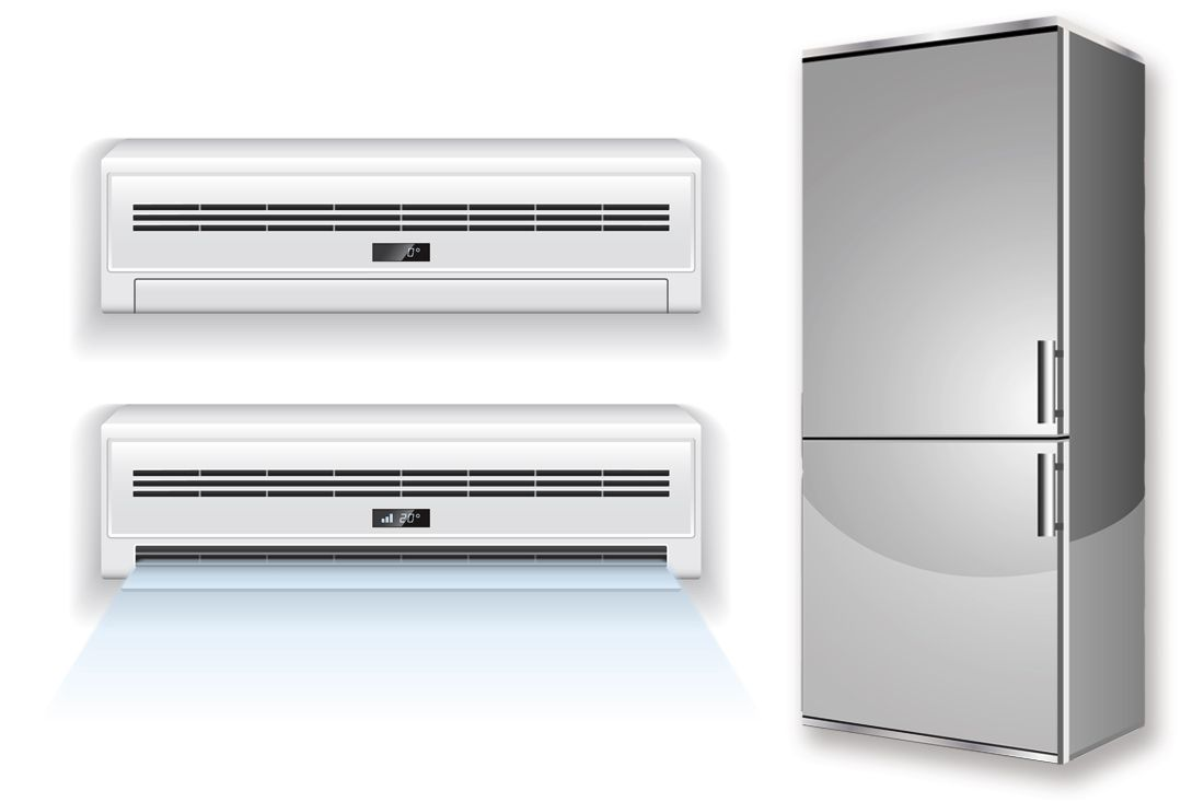 · White Appliance Industry -- Air Conditioners and Refrigerators