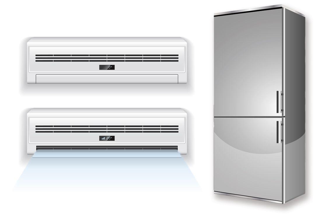 · 白物家電産業 -- エアコンと冷蔵庫