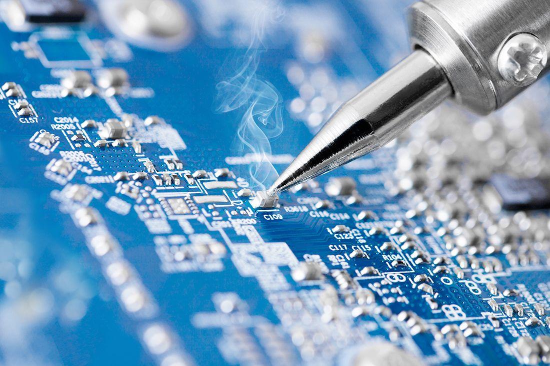 Componentes eléctricos y electrónicos