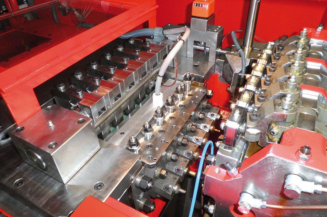 Soluciones de monitorización para multiestaciones y fabricación de pernos