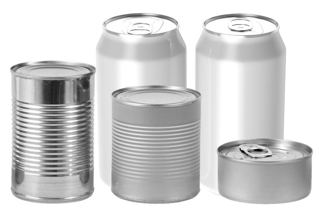 · 包装産業 -- 缶および食品パウチ