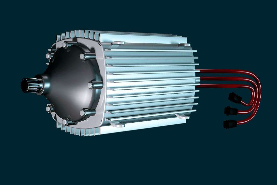 · Automotive Industry -- Electric Motors for EV