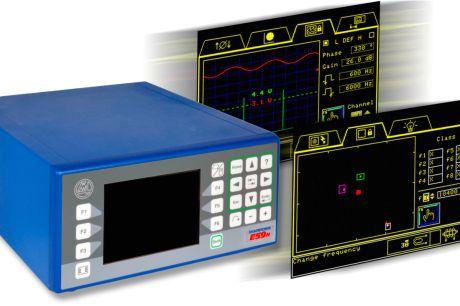 Messelektroniken für Qualitätskontrollen mit Wirbelstrom