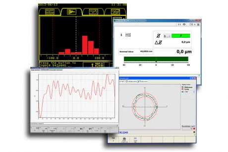 Software for Dimensional Control, Process Monitoring and Grinding Wheel Balancing