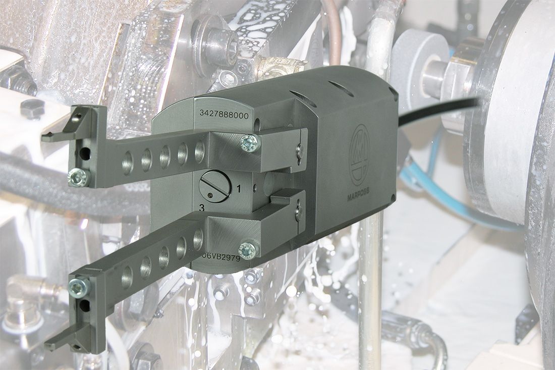 Internal Diameter Grinding Process Monitoring Gauge Line