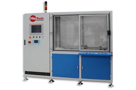 Chargé à l'hélium - Tests sous vide