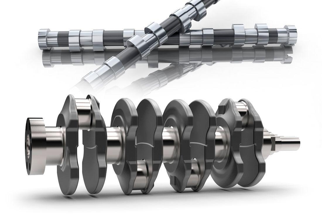 · Автомобилестроение - Двигатель: Технологические решения для элементов схожих с валами