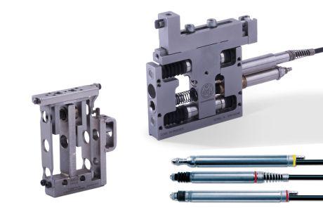 測定プローブと測定用トランスミッション要素