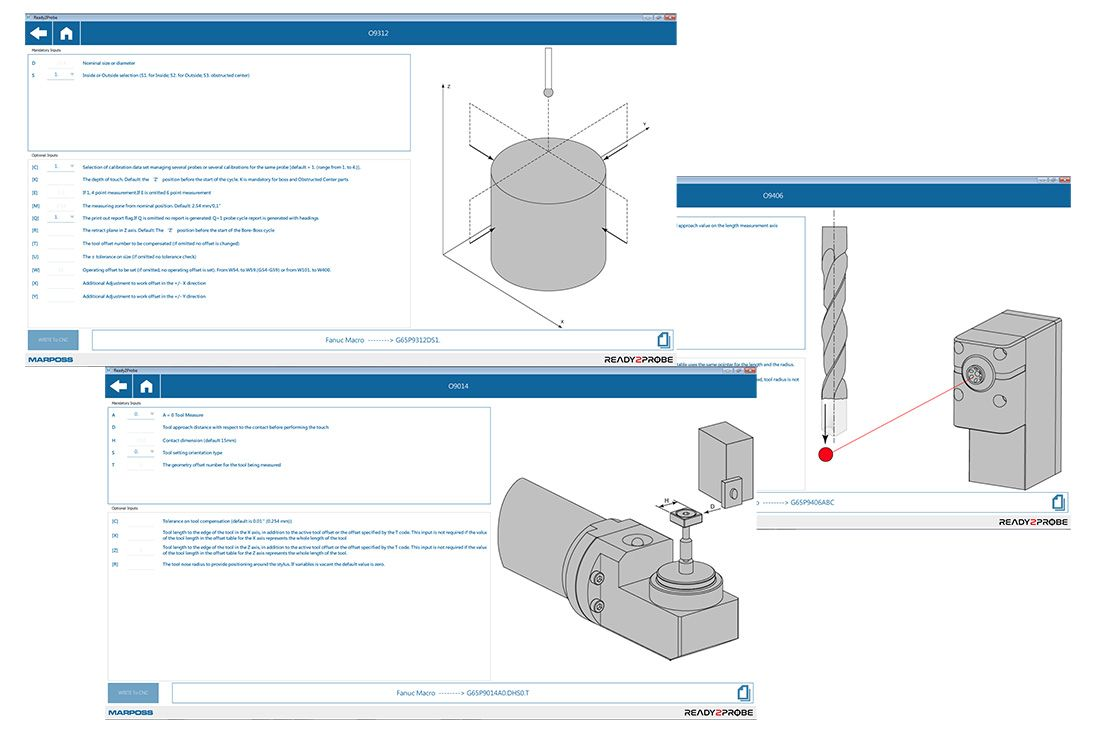 Software Cycles for Part and Tool Measure and Verification