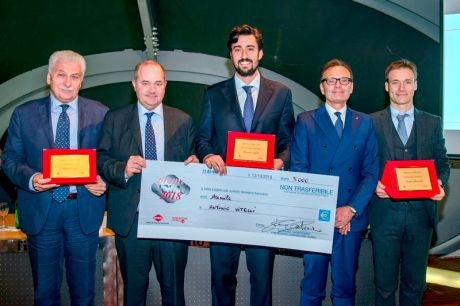 ANTONIO VITELLI WINS THE UCIMU 2018 AWARD IN COOPERATION WITH MARPOSS