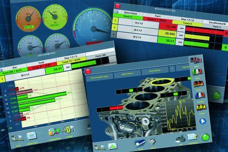 带有基本统计过程控制(SPC)的测量软件