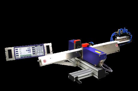 Sistema láser para la medida de paso de diámetros individuales y regulación de la rectificadora