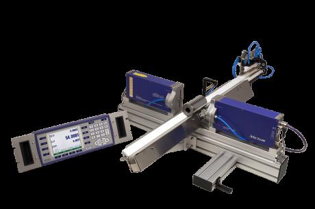 Sistema láser para la medida de paso de diámetros múltiples y la regulación de la rectificadora
