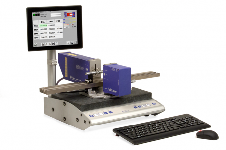The Laser Micrometer with Embedded PC to Check Small Shafts and Ground Components